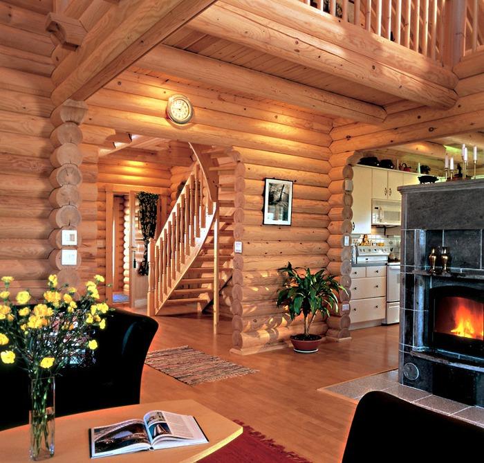Фасады деревянного дома