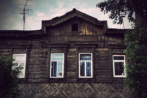 Старые деревянные дома фото