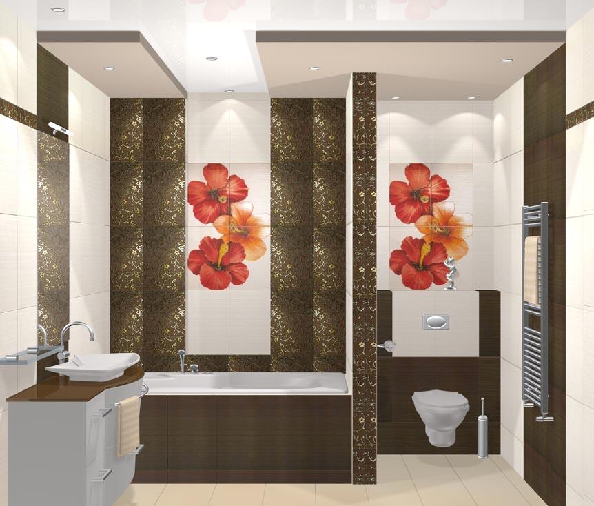 Дизайн оформление ванной комнаты
