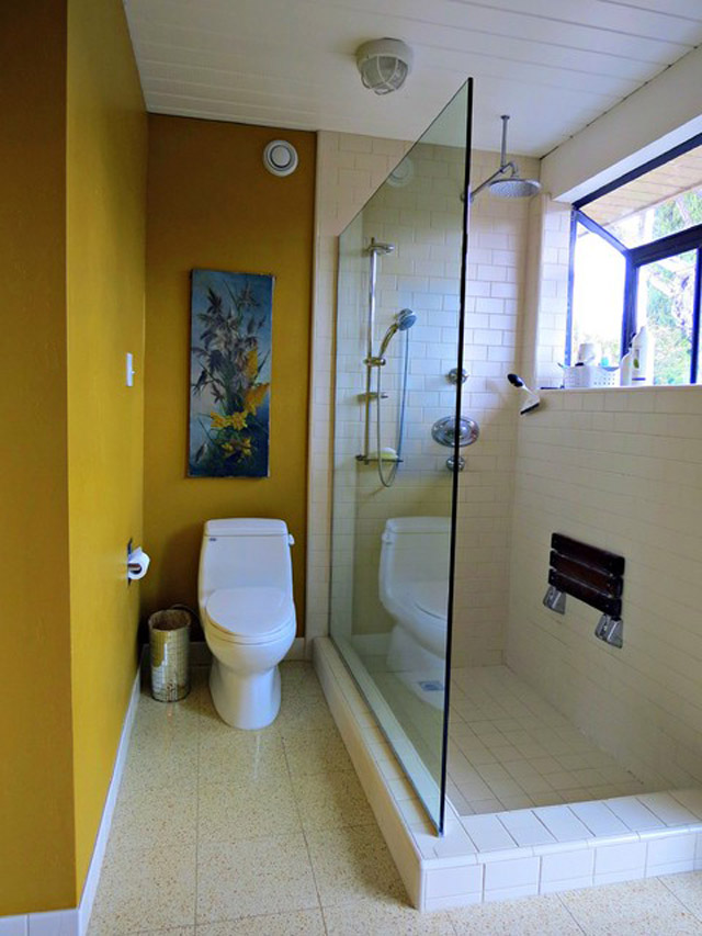 Дизайн узкой ванной комнаты фото
