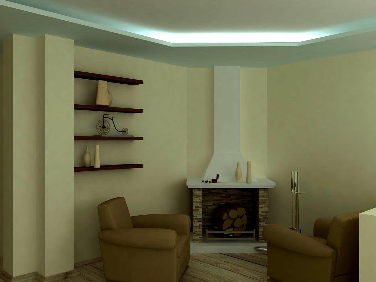 Дизайн угловых каминов в доме фото