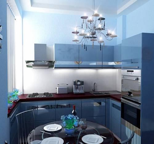 Кухни 5 кв метра дизайн