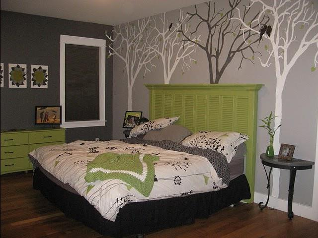 Дизайн спальной комнаты своими