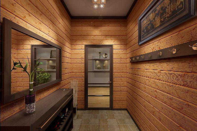 Дизайн маленького узкого коридора